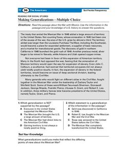 Drawing Conclusions Lesson Plans & Worksheets | Lesson Planet