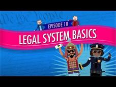 Legal System Basics: Crash Course Government and Politics #18 Video