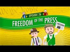Freedom of the Press: Crash Course Government and Politics #26 Video