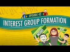 Interest Group Formation: Crash Course Government and Politics #43 Video
