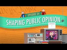 Shaping Public Opinion: Crash Course Government and Politics #34 Video