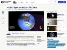 NASA's Eyes on the 2017 Eclipse Interactive