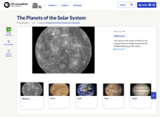 The Planets of the Solar System Graphics & Image