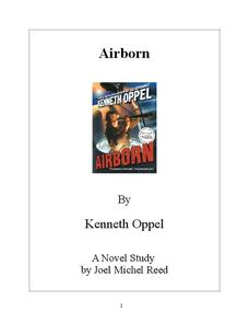 Airborn Novel Study Study Guide