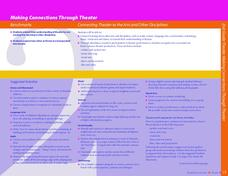 Making Connections Through Theater Lesson Plan