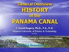 General Overview History of the Panama Canal Presentation