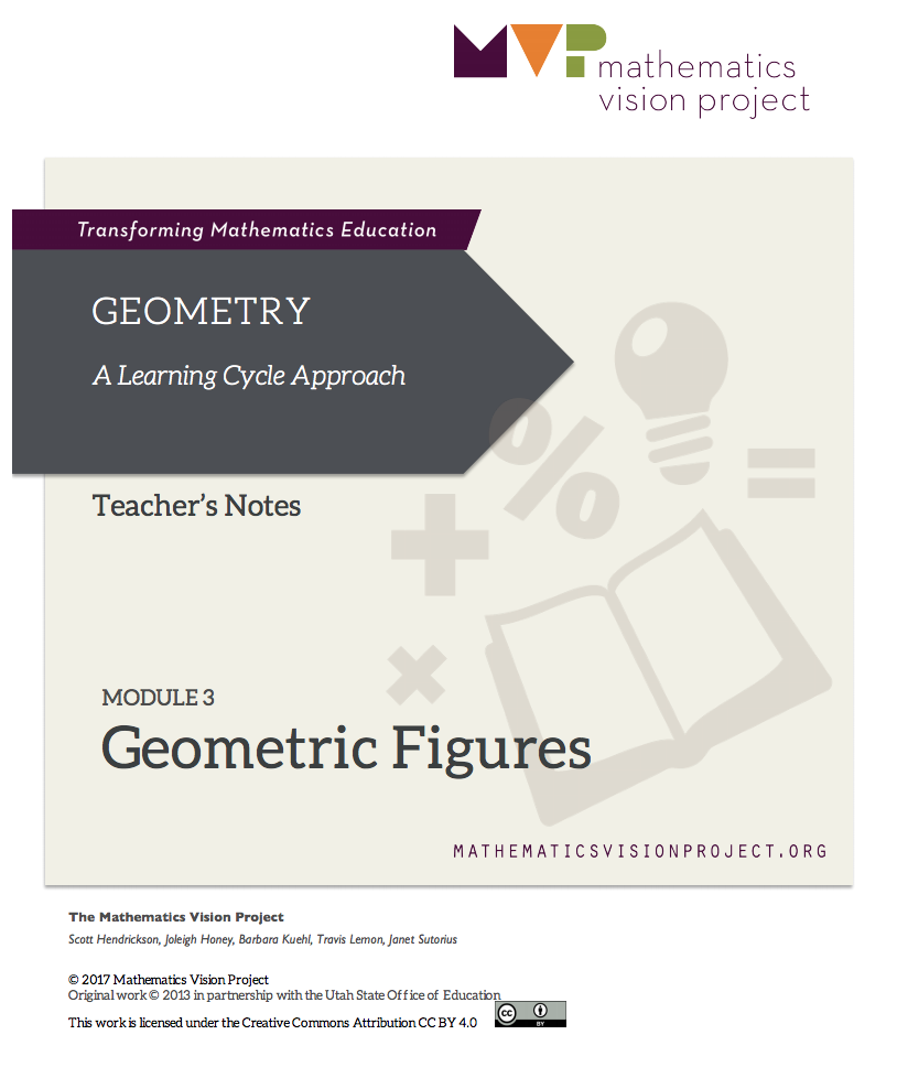 Module 3: Geometric Figures Unit