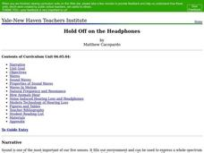 Hold Off on the Headphones Lesson Plan