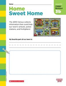 Home Sweet Home Worksheet