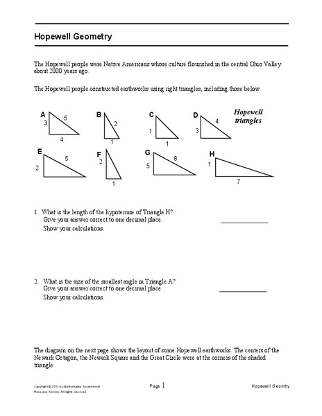 Hopewell Geometry Assessment
