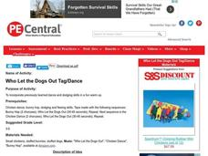 Who Let the Dogs Out Tag/Dance Lesson Plan