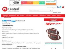 Football Frenzy Lesson Plan