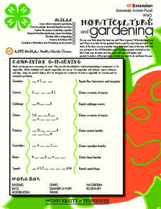 Horticulture Lesson Plans & Worksheets | Lesson Planet
