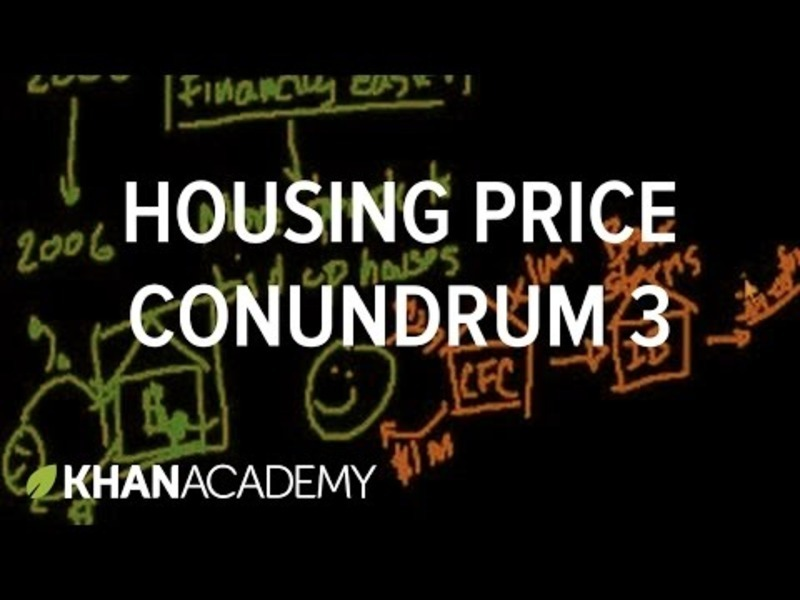 Housing Price Conundrum (Part 3) Video