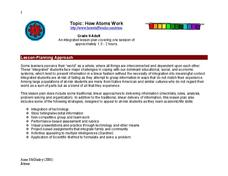 How Atoms Work Lesson Plan