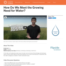 How Do We Meet the Growing Need for Water? Video