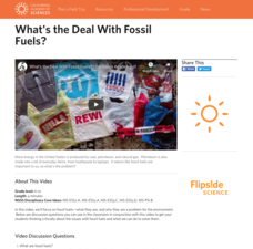 What's the Deal With Fossil Fuels? Video