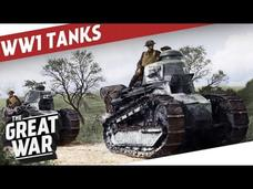 Tank Development in World War 1 Video