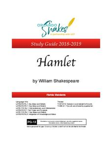 Hamlet: Study Guide Activities & Project