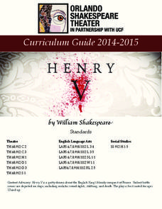 Henry V: Study Guide Activities & Project
