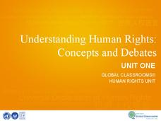 Unit 1: Human Rights Concepts Presentation