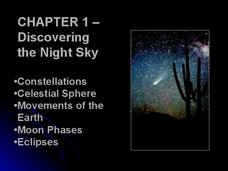 Discovering the Night Sky Presentation