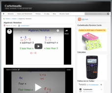 Algebraic Notation Video