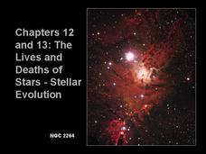 Lives and Deaths of Stars Presentation