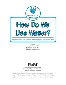 How Do We Use Water? Lesson Plan
