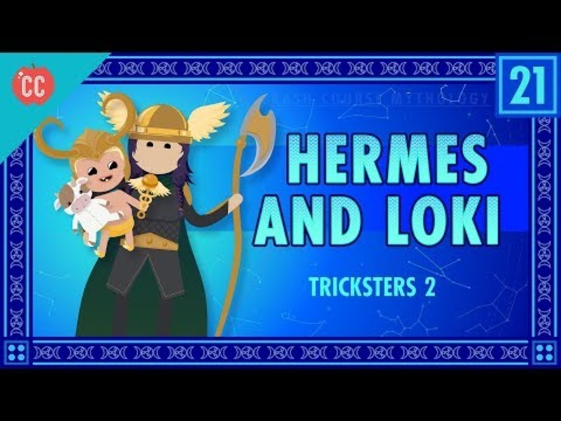 Hermes and Loki and Tricksters Part 2: Crash Course World Mythology #21 Video