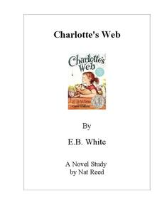 Charlotte's Web: Novel Study Study Guide