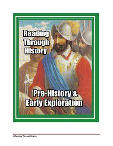 Early History and Exploration Unit Worksheet