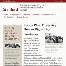 Observing Human Rights Day Lesson Plan