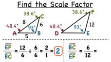 How Do You Find a Scale Factor in Similar Figures? Video