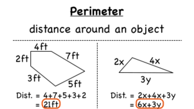 How Do You Find the Perimeter of a Shape? Video