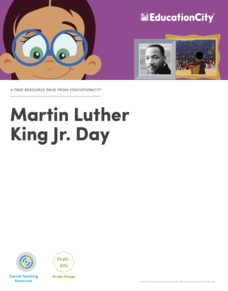 Martin Luther King Jr. Day Lesson Plan