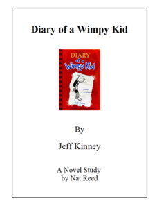 Diary of a Wimpy Kid: Novel Study Study Guide