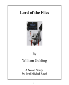 Lord of the Flies: Novel Study Study Guide