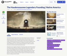The Haudenosaunee Legendary Founding Video