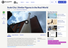 Scale City — Similar Figures in the Real World Video