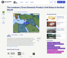 The Lowdown — Gross Domestic Product: Unit Rates in the Real World Interactive