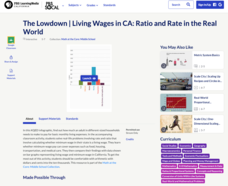 The Lowdown — Living Wages in CA: Ratio and Rate in the Real World Handouts & Reference