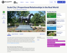 Scale City — Proportional Relationships in the Real World Activities & Project