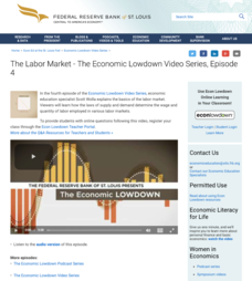 Episode 4: The Labor Market Video
