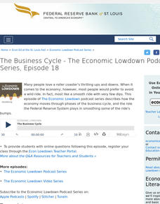 Episode 18: The Business Cycle Audio
