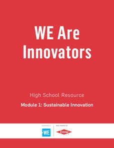 WE Are Innovators: High School Resources