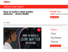 How to Build a Dark Matter Detector Video