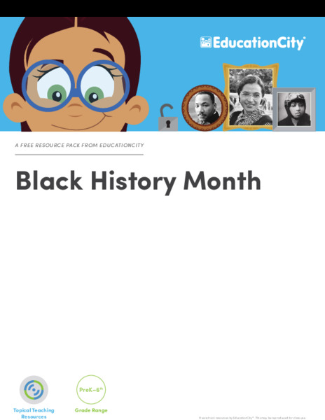 Black History Month Activities & Project
