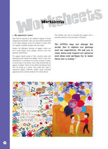 Peace Worksheets Activities & Project