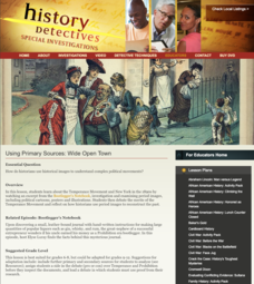 Using Primary Sources: Wide Open Town Lesson Plan